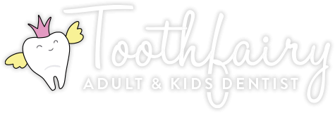Toothfairy Adult and Kids Dentist logo